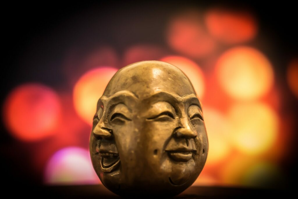 Faces of Buddha, a master of emotional intelligence